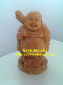 Tp. Hà Nội: Tượng gỗ pơ mu- Phật Di Lặc CL1703005