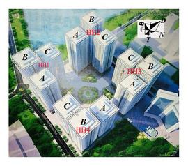 Giao bán căn hộ tầng 37 HH2B Linh đàm Ms Trang 01659816156 / 0942730901