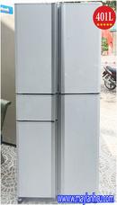 Tp. Hồ Chí Minh: Tủ lạnh cũ MITSUBISHI MR-A41N(401L), cửa chẻ màu trắng CL1509620