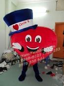 Tp. Hồ Chí Minh: nhận may, bán và cho thuê mascot trái tim giá rẻ CL1212639