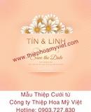 Tp. Hồ Chí Minh: In thiệp cưới chuyên nghiệp – Thiệp Hoa Mỹ Việt CL1679244P5