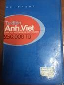 Tp. Hồ Chí Minh: Cần bán từ điển Anh Việt loại dày với 250000 từ CAT2_253P11