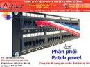 Tp. Hà Nội: Patch panel 24port amp, Patch panel 48port amp cat 5e, cat 6e CL1679856P3