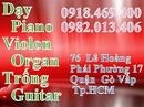Tp. Hồ Chí Minh: Dạy đàn Violin. lớp violin gò vấp thông báo chiêu sinh CL1102567