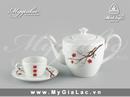 Tp. Hồ Chí Minh: bộ trà với những đường nét hoa văn sang trọng CL1528250