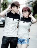 Tp. Hồ Chí Minh: áo thun cặp đôi cổ bẻ M2034 CL1535625