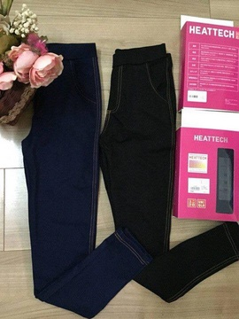 Quần legging giả jean Uniqlo mới-mẫu 2015