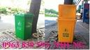 Tp. Hồ Chí Minh: Chuyên cung cấp thùng rác 2 bánh xe, thùng đựng rác công nghiệp giá rẻ CL1182602