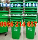 Tp. Hồ Chí Minh: Thùng rác 120 lít màu cam, thùng rác 240 lít CL1206030