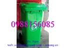 Tp. Hồ Chí Minh: Thùng rác công cộng 120l, 240l 2 bánh xe, nắp kín giá rẻ nhất chỉ 520 ngàn CL1475903