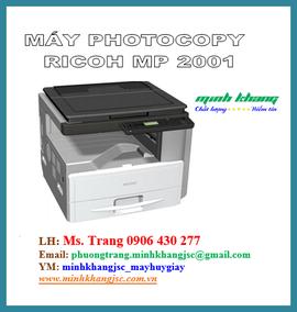 Máy photocopy Ricoh MP 2001/ Ricoh MP 2001 tốc độ 20 bản/ phút giá tốt nhất