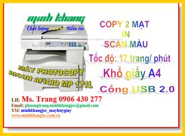 Máy Ricoh Aficio MP 171L/ Ricoh 171L chính hãng copy+in +scan giá tốt