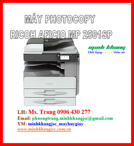 Ricoh Aficio MP 2501 SP hàng chính hãng giá siêu tốt