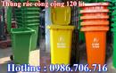 Tp. Hà Nội: thùng rác công cộng 120 lít, 240 lít nhựa HDPE giá rẻ nhất CL1395229