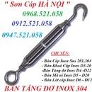 Tp. Hà Nội: Bán Tăng đơ Inox hà nội 0912. 521. 058 cáp inox 304 từ phi 1 đến phi 20 RSCL1669730