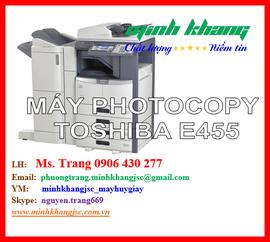 Máy photocopy Toshiba e- Studio 455, máy photocopy E-455. Bảo hành 24 tháng