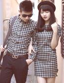 Tp. Hồ Chí Minh: áo sơ mi đầm cặp đẹp E21 CL1557768