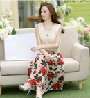 Tp. Hồ Chí Minh: Đầm Dài Chân Váy Hoa Hồng CL1684527P10