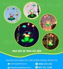Tp. Hà Nội: Hoa sen 3D trang trí cột đèn chiếu sáng đường phố mới nhất CL1572531