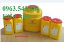 Kiên Giang: thùng rác y tế đạp chân 15 lít, 20 lít, 60 lít, thùng đựng rác thải nguy hại CL1564244