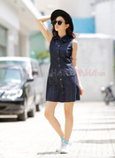 Tp. Hồ Chí Minh: Đầm Jean phối túi dễ thương RSCL1684547