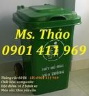 Tp. Hồ Chí Minh: Thùng rác nhựa 2 bánh xe, thùng rác công cộng, thùng rác 120 lít, 240 lít CL1565270
