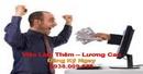 Tp. Hồ Chí Minh: Việc Làm Thêm Buổi Tối Cho Người Có Máy Tính - Lương Rất Cao CL1568392