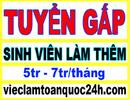 Tp. Hồ Chí Minh: Việc Làm Bán Thời Gian Tại nhà 4-6tr/ th nhận việc ngay không cần kinh nghiệm CL1697589