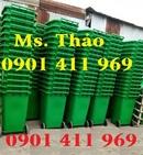 Tp. Hồ Chí Minh: thung rác công cộng, thùng rác 2 bánh xe, xe thu gom rác CL1450764