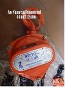 Tp. Hà Nội: Pa lăng xích kéo tay NITTO 30VP5 3 tân x 3m ( Lh: 0946712486) CL1169596P1