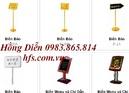 Tp. Hà Nội: Biển menu, biển thực đơn, đồ dùng đại sảnh CL1262879