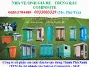 Long An: Bán và cho thuê nhà vệ sinh môi trường giá rẻ Bến Lức CL1697761