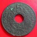 Tp. Hà Nội: Bán tiền cổ Indochine Francaise 5 CENT. 1930 CL1612808