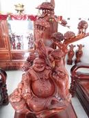 Tp. Hồ Chí Minh: tượng di lặc gỗ hương CL1612808