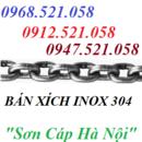 Tp. Hà Nội: Rao nhanh bán rẻ xích Inox 304 treo bơm 0947. 521. 058 khoá xích bán Ha Noi CL1589131