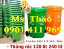 Tp. Hồ Chí Minh: Thùng đựng rác 2 bánh xe, thùng chứa rác, thùng rác 120 lít, 240 lít, xe rác CL1591344P6