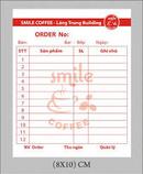 Tp. Hồ Chí Minh: chuyên in cuốn order, vé xe, bao đũa, tăm, đường giá rẻ CUS19526