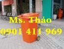 Tp. Hồ Chí Minh: Thùng rác 2 bánh xe, thùng đựng rác các loại, thùng đựng rác 120 lít CL1591344P6