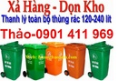 Tp. Hồ Chí Minh: Thùng rác 2 bánh xe 120 lít, 240 lít, thùng rác công cộng, thùng đựng rác CL1591344