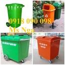 Tp. Hồ Chí Minh: giảm giá cuối năm, thanh lý hàng thùng rác nhựa, thùng rác 120 lít, 240L giá rẻ CL1591344