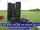 Tp. Hà Nội: Thuê âm thanh công suất lớn giá rẻ CL1698561