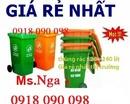 Tp. Hồ Chí Minh: thanh lý thùng rác cuối năm giá rẻ, thùng rác nhựa 120 lít, 240 lít, xe rác nhựa CL1591344