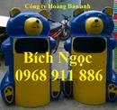 Tp. Hồ Chí Minh: Thùng rác hình con chim cánh cụt, con chuột mickey, thung đựng rác hình con thú CL1218185