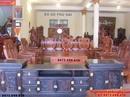 Bắc Ninh: Bộ bàn ghế đẹp Gỗ hương kiểu như ý NY71 CL1592869