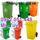 Tp. Hà Nội: Đại lý thùng rác nhựa màu cam, màu xanh nhập khẩu giá tốt CL1408960