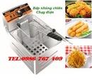 Tp. Hà Nội: Máy cắt khoai tây lốc xoáy, bếp chiên nhúng điện 1 ngăn CL1661742