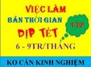 Tp. Hồ Chí Minh: Cần tuyển Sinh Viên làm thêm Dịp Tết, ko cần kinh nghiệm CL1689051