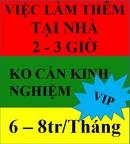 Tp. Hồ Chí Minh: Việc làm thêm ngoài giờ, lương 6-8tr/ Tháng, ko cần kinh nghiệm CL1679776