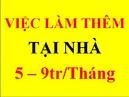 Tp. Hồ Chí Minh: (Tuyển Gấp) 12 Nhân viên làm thêm, luơng cao, số lượng có hạn CL1679776