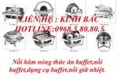 Tp. Hà Nội: Dụng cụ buffet, đồ dùng buffet, nối hâm buffet, nồi hâm nóng thức ăn buffet CL1108938P10